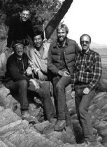 Image of Paul Meyer on Korean Plant Collection Expedition  1984 - 2016.45.4