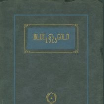 Image of Yearbook - Blue and Gold 1925
