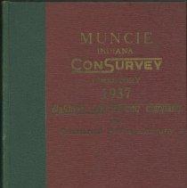 Image of Directory, City - Muncie Indiana Consurvey Directory, 1937