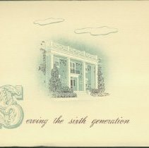 Image of Booklet - Serving the sixth generation