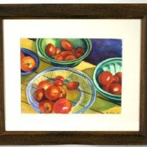 Image of Painting - Farm Market:  Tomatoes