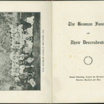 Image of Book - The Bosman Family and Their Descendants