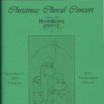 Image of Program - Christmas Choral Concert