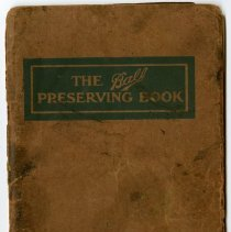 Image of Cookbook - The Ball Preserving Book