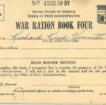 Image of Book, Ration - War Ration Book Four