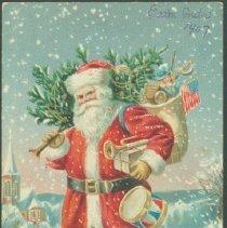 Image of Postcard - A Merry Christmas