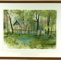 Image of Painting - Springtime At Oakhurst