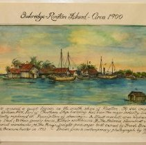 Image of Map - Oakridge, Roatan Island, Circa 1900