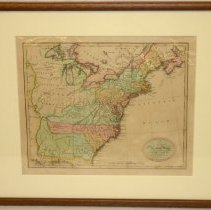 Image of Map - A New and Accurate Map of the United States of America, Etc. from the Best Autorities