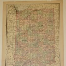 Image of Map - Map of Indiana