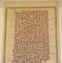 Image of Map - Johnson's Indiana