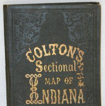 Image of Map - Colton's Sectional Map of the State of Indiana