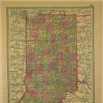 Image of Map - Tunison's Indiana