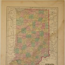 Image of Map - Indiana