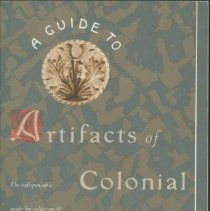 Image of Guide to artifacts of colonial America, A - Noel Hume, Ivor.