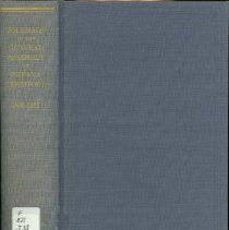 Image of Journals of the General Assembly of Indiana Territory, 1805-1815 -