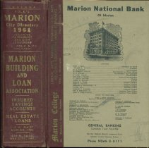 Image of Polk's Marion (Grant County, Ind.) city directory, 1961, including Fairmount, Gas City and Jonesboro -