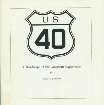 Image of US 40 : a roadscape of the American experience - Schlereth, Thomas J.
