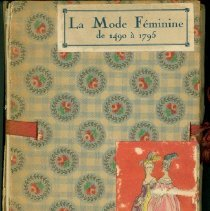 Image of La mode feminine de 1490 a 1795 -