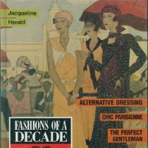Image of Fashions of a decade : the 1920s - Herald, Jacqueline.