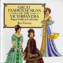 Image of Great fashion designs of the Victorian era : paper dolls in full color - Tierney, Tom.