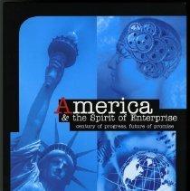 Image of America & the spirit of enterprise : century of progress, future of promise - Robinson, James W., 1954-
