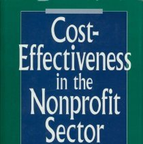 Image of Cost-effectiveness in the nonprofit sector : methods and examples from leading organizations -