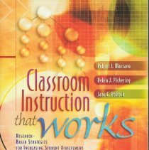 Image of Classroom instruction that works : research-based strategies for increasing student achievement - Marzano, Robert J.