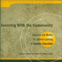 Image of Learning with the community : concepts and models for service-learning in teacher education -