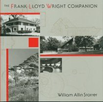 Image of Frank Lloyd Wright companion, The - Storrer, William Allin.
