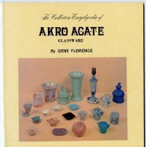 Image of Collectors Encyclopedia of Akro Agate glassware, The - Florence, Gene