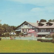 Image of Postcard - Delaware Country Club, Muncie, Indiana.