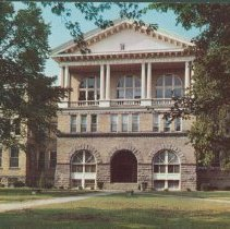 Image of Postcard - Administration Building, Ball State Teachers College, Muncie, Ind.