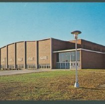 Image of Postcard - Physical Education Building for Men