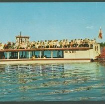 "Image of Postcard - The ""Dixie"" Excursion Boat"