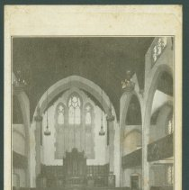 Image of Postcard - The Sanctuary High Street Methodist Episcopal Church