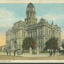 Image of Postcard - Court House, Muncie, Ind.