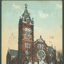 Image of Postcard - St. Mary's R.C. Church.