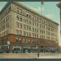Image of Postcard - Union Building, Anderson, Ind.