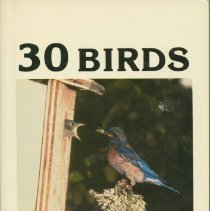 Image of 30 birds that will build in bird houses - Layton, Reber Boyce, 1912-