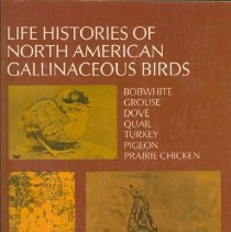 Image of Life histories of North American gallinaceous birds : bobwhite, grouse, dove, quail, turkey, pigeon, prarie chicken - Bent, Arthur Cleveland, 1866-1954.