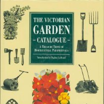Image of Victorian garden catalogue, The : a treasure trove of horticultural paraphernalia - Ledward, Daphne.