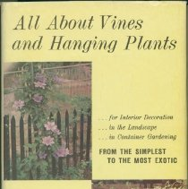 Image of All about vines and hanging plants - Brilmayer, Bernice.