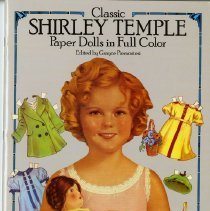 Image of Classic Shirley Temple paper dolls in full color -