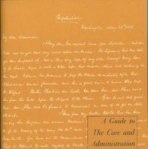 Image of Guide to the care and administration of manuscripts, A - Kane, Lucile M.