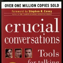 Image of Crucial conversations : tools for talking when stakes are high -