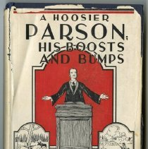 Image of Book - A Hoosier Parson:  His Boosts and Bumps