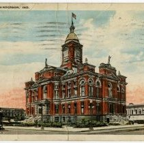 Image of Postcard - Court House, Anderson, Ind.