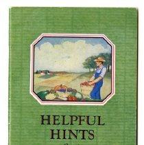 Image of Booklet - Helpful Hints for the Fruit & Vegetable Gardener
