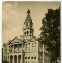 Image of Postcard - County Court House, Hillsdale, Michigan.